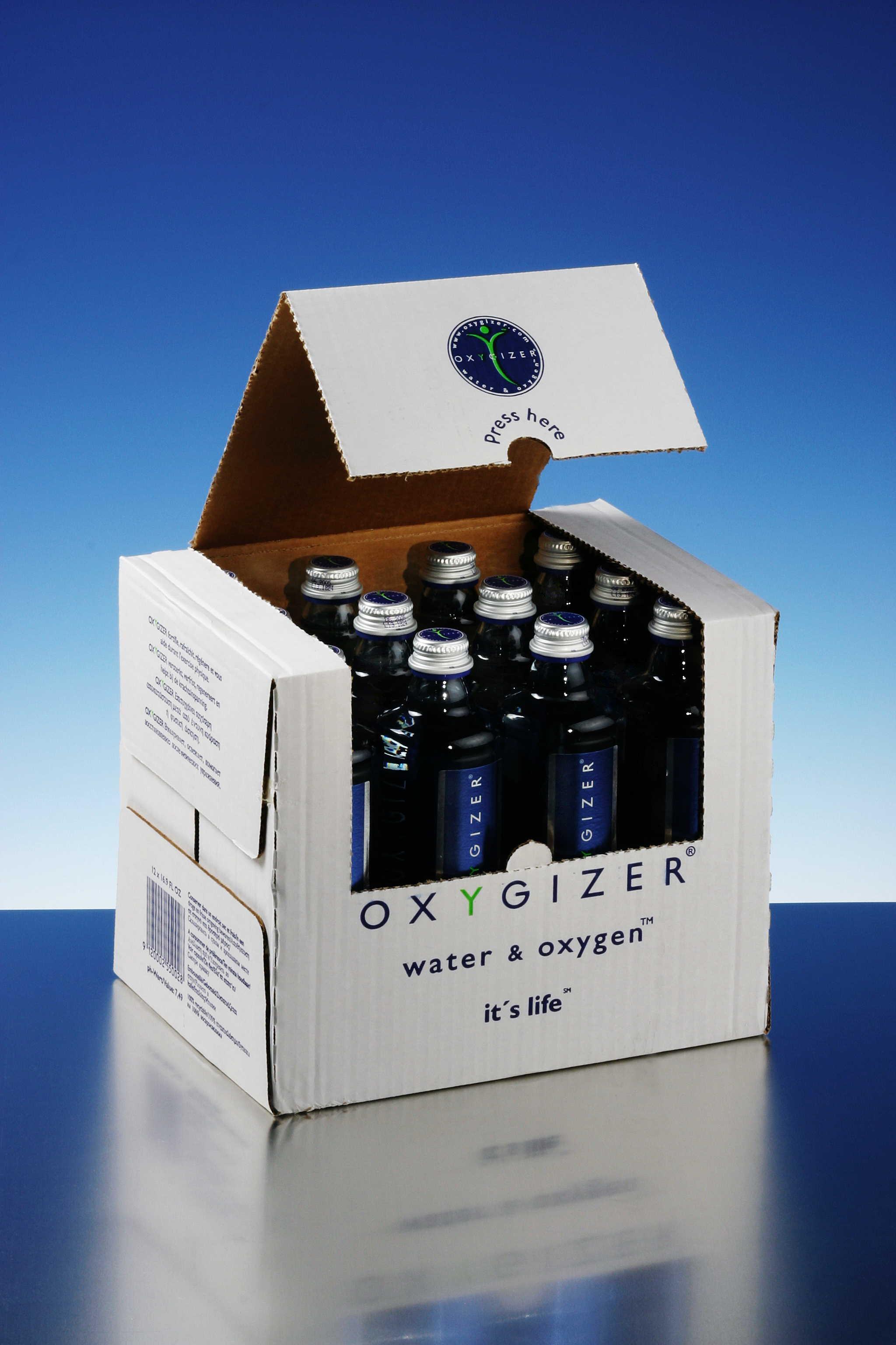 scatola da 12 acqua oxygizer