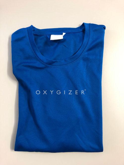 oxygizer-t-shirt tecnica blu