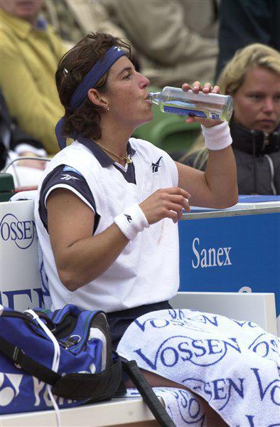 Arantxa Sanchez tennista oxygizer